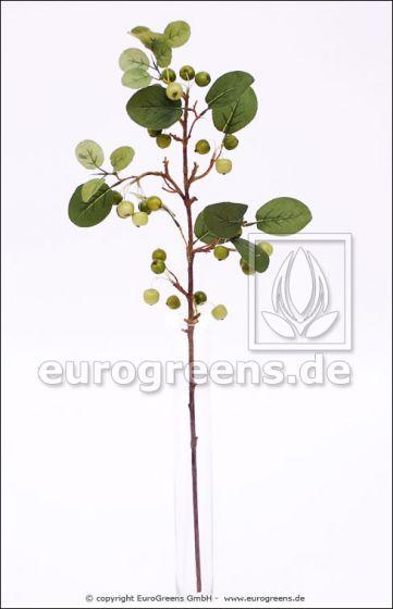 künstlicher Mini-Apfelzweig ca. 80cm grün