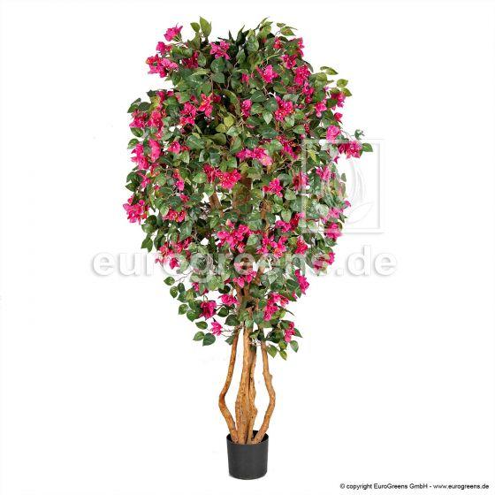 künstliche Bougainvillea pink blühend ca. 170cm