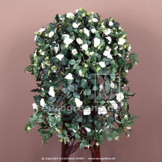 Kunstpflanze Rosenranke weiß ca.70cm