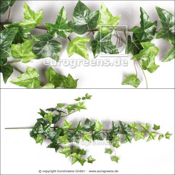 künstlicher Efeu-Zweig ca. 90cm mit Einsteckstab