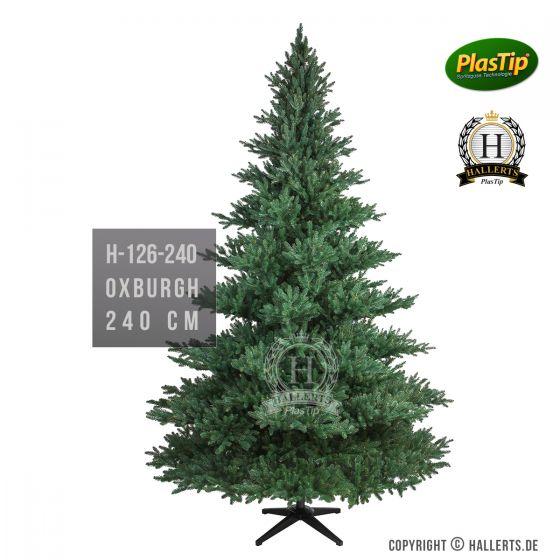 künstlicher Spritzguss Weihnachtsbaum Nobilis Edeltanne Oxburgh ca. 240cm