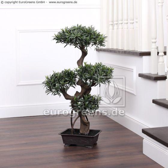 künstlicher Podocarpus-Bonsai ca. 90cm
