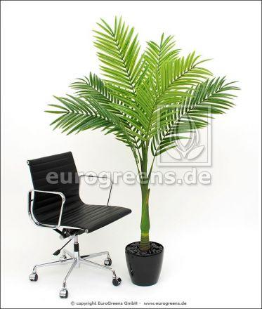 Kunstpflanze Cocos Nucifera Palme ca. 190-200cm