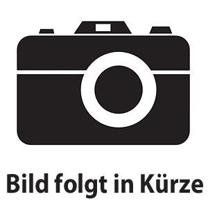künstliche weiß/lilac Orchidee mit Übertopf im Vintage Look