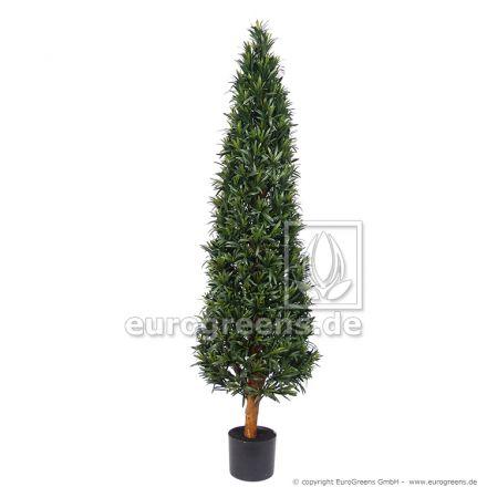 Kunstpflanze Podocarpus Kegel ca. 140cm