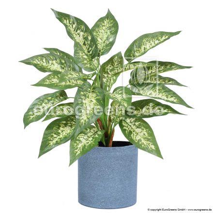 künstliche Dieffenbachia ca. 45cm (mit Einsteckstab/ ungetopft)