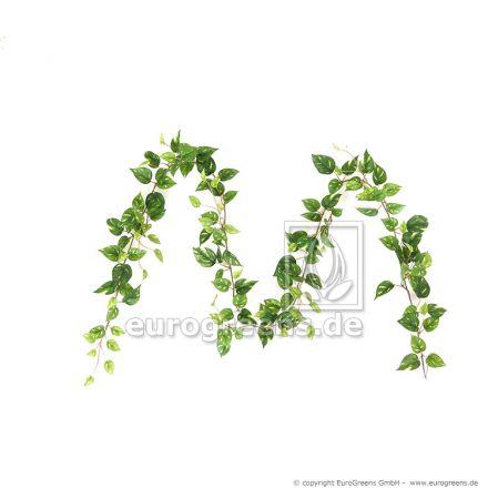 künstliche Pothosgirlande grün gelb ca. 180cm