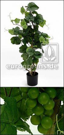 Kunstpflanze Rebstock mit Trauben 110cm