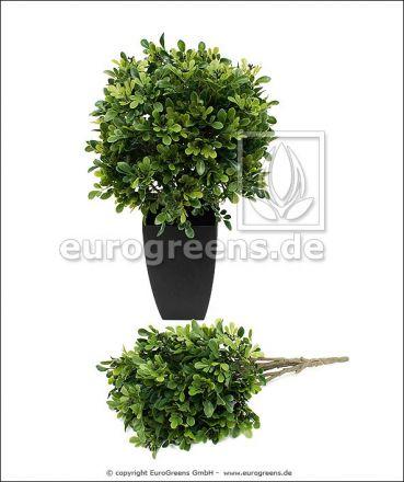 künstlicher Buchsbusch ca. 50cm (mit Einsteckstab/ungetopft)