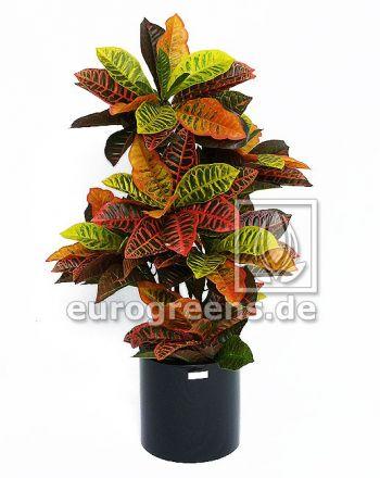 Kunstpflanze Croton Busch ca. 90cm