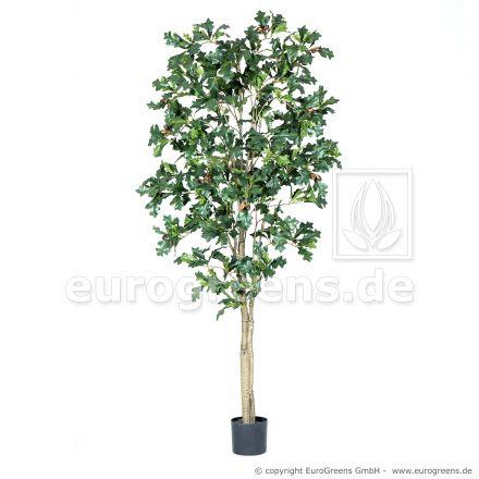 künstlicher Eichenbaum mit Eicheln ca. 180cm hoch