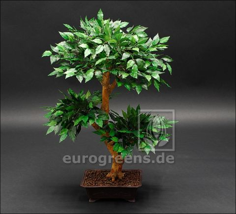 künstlicher Mini-Ficus-Bonsai ca. 80cm