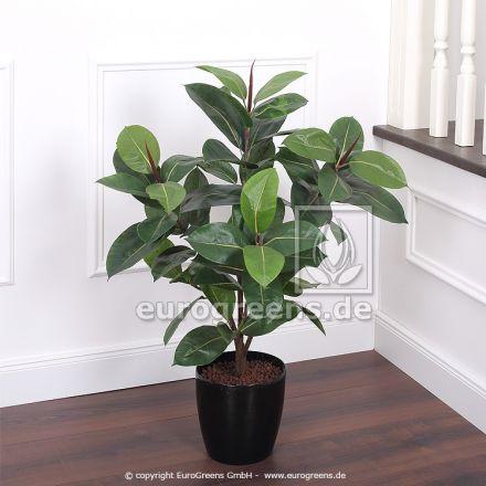 Kunstpflanze Gummibaum ca. 90-100cm