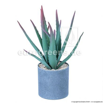 künstliche Aloe Vera ca. 40cm getopft