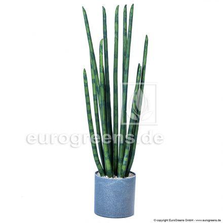 Kunstpflanze Sansevieria Cylindrica mit ca. 73cm