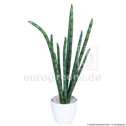 Kunstpflanze Sansevieria Cylindrica mit ca. 48cm