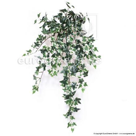 künstliche Efeu Ranke ca. 75cm grün- weiß/creme