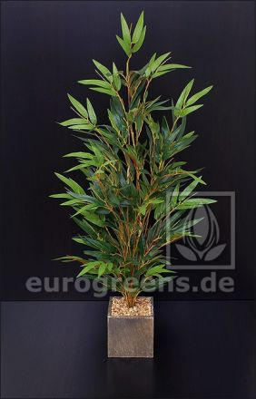 Kunstpflanze Mini Bambus Bonsai ca. 65-70cm