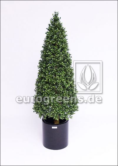 Kunstpflanze Buchsbaumpyramide ca. 120cm wetterfest