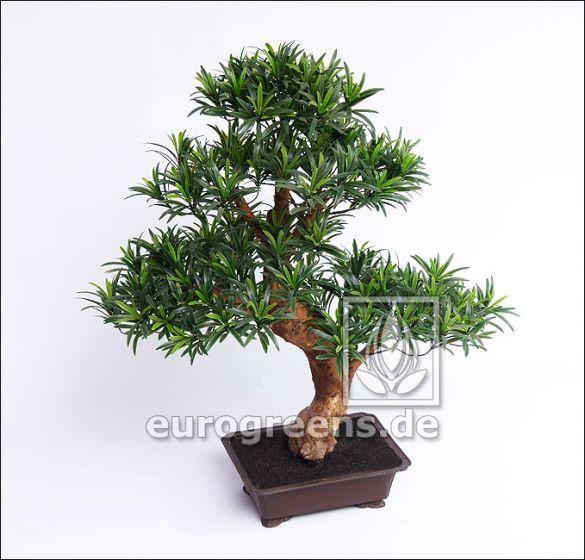 künstlicher Podocarpus-Bonsai ca. 80cm